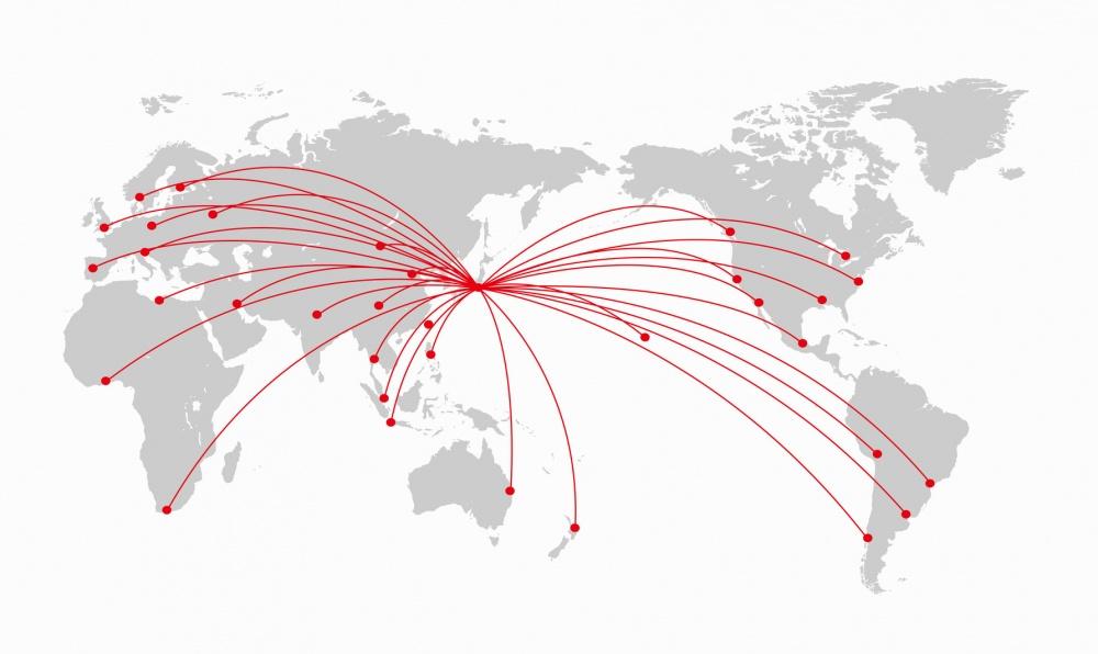 外国人観光客はどんどん日本に来ている